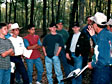 Forestry Course at Special Needs Camp