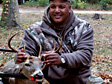 Veteran with 8 Point Buck